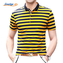 Covrlge Brand Polo Shirt 2017 Summer Short Sleeve Shirts Breathable Cotton Men Fashion Luxury Polo Shirt Jerseys Clothes MTP027
