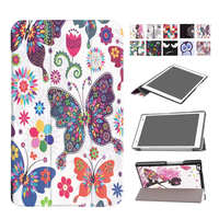 For Lenovo Tab4 8 8 0 PU Leather Case Cover Protective Stand Skin For Lenovo TAB