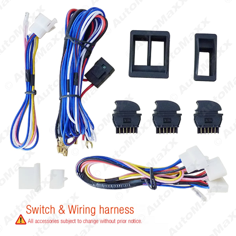 online get cheap wiring power window aliexpress com alibaba group universal car power window 3pcs switches holder wire harness j 2843