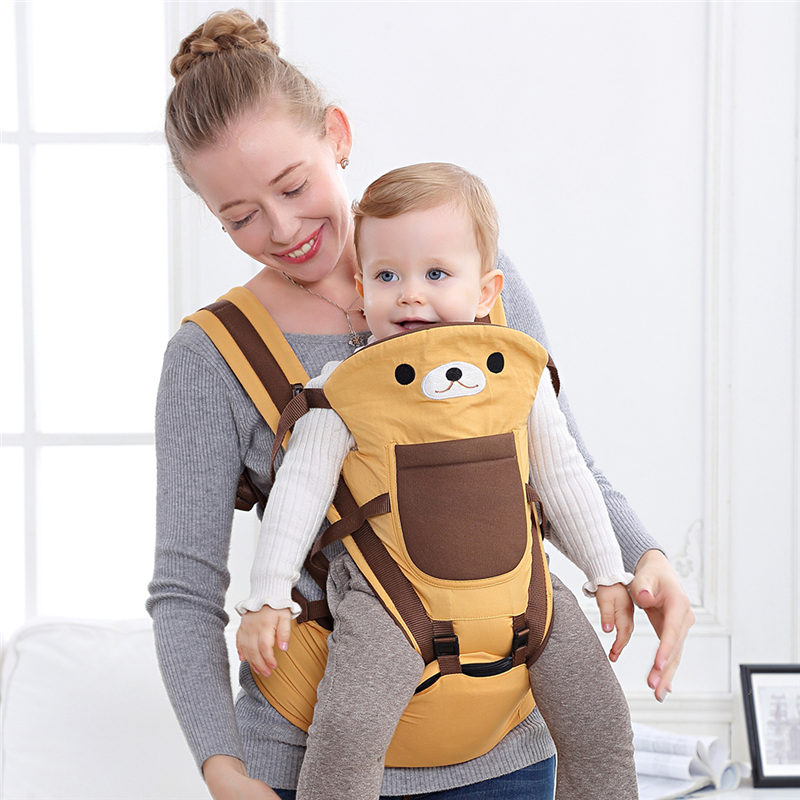 Baby Carriers Newborn Backpacks Portable Baby Sling Wraps Hipseat Ergonomic Infant Carrying Belt For Mom Dad Accessories 0-36M