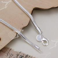 2016 новый конструктор серебряный позолоченный браслет, свадебные аксессуары и украшения, мода серебро 3 м змея кость цепи браслеты браслет