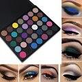 35 Cores Matte Eyeshadow Palette Shimmer Maquiagem Terra Quente Paleta de sombra Olho Esfumaçado Morphing 35A/35B/35C/35O/35 T/35 W Maquiagem
