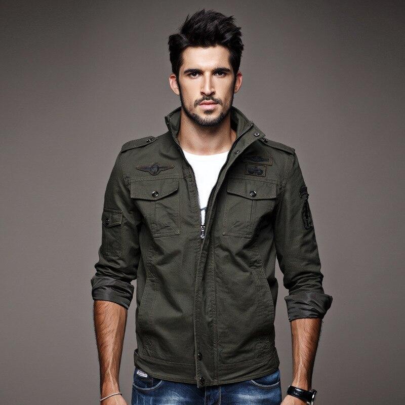 Popular Military Style Denim Jacket-Buy Cheap Military Style Denim ...