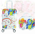 abs Korean children cartoon trolley price 20 inch waterproof cartoon picture box suitcase 3 color options