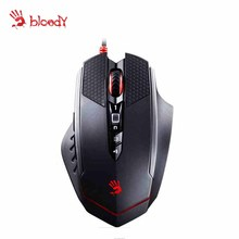 A4tech Bloody T70 4000 DPI gaming mouse FPS RPG MMO recreation mouse Dota LOL CF CS skilled recreation mice USB wired pc mouse