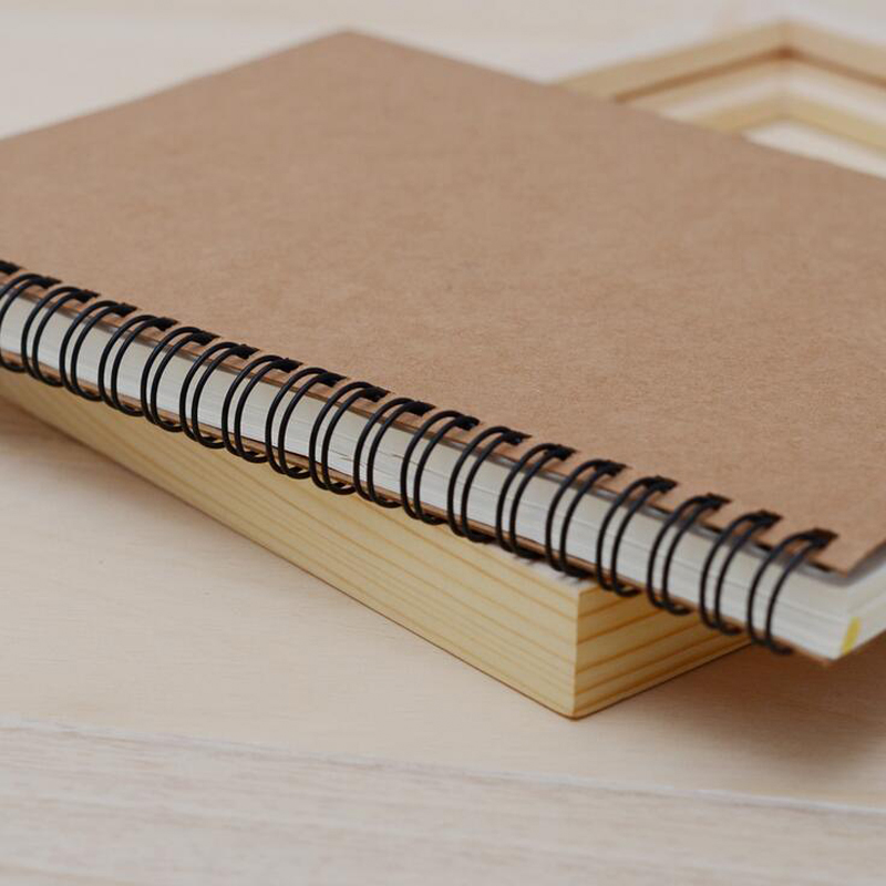 Sketchbook Diary Drawing Painting Graffiti Small 12*18cm Soft Cover Blank Paper Notebook 4