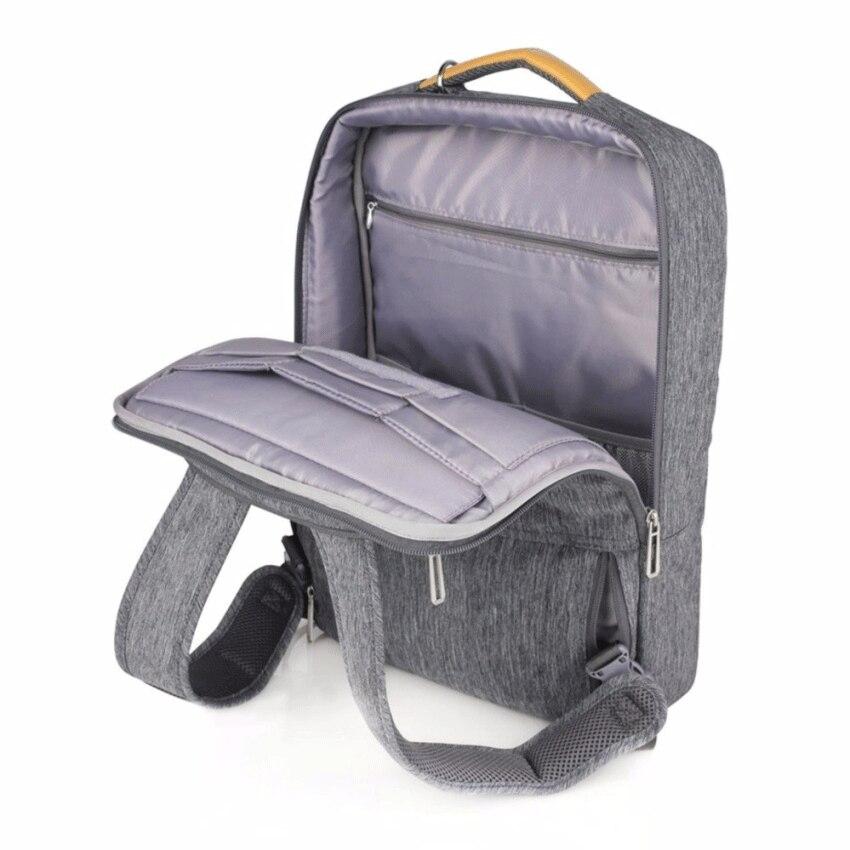 男性のバックパックのラップトップバッグ Natural WIWU 15.4