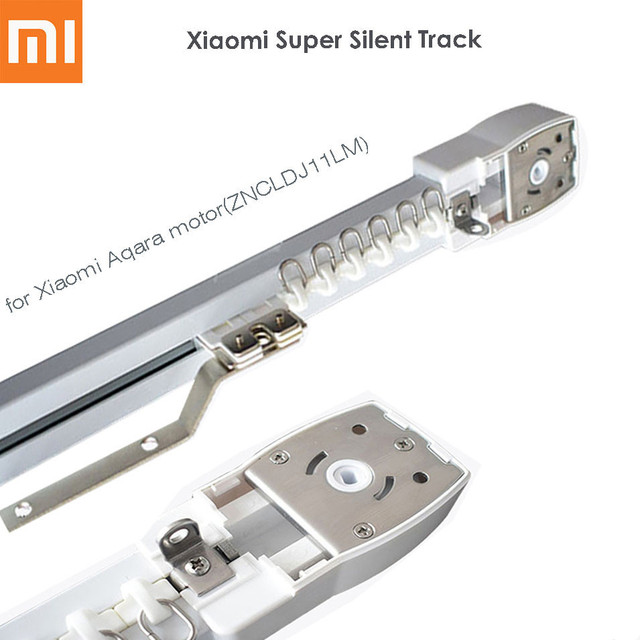 Original Super Quite Electric Curtain Track for Xiaomi Mijia Aqara on camera rail system, closet rail system, curtain wall system, shower rail system, english rail system, crane rail system, ceiling rail system, curtain cable system, mini blind, cabinet rail system, furniture rail system, table rail system, chain rail system, ikea curtain system, glass rail system, guide rail system, automatic curtain system, remote control curtain system, custom rail system, screen rail system, window blind, curtain railing system, window covering,
