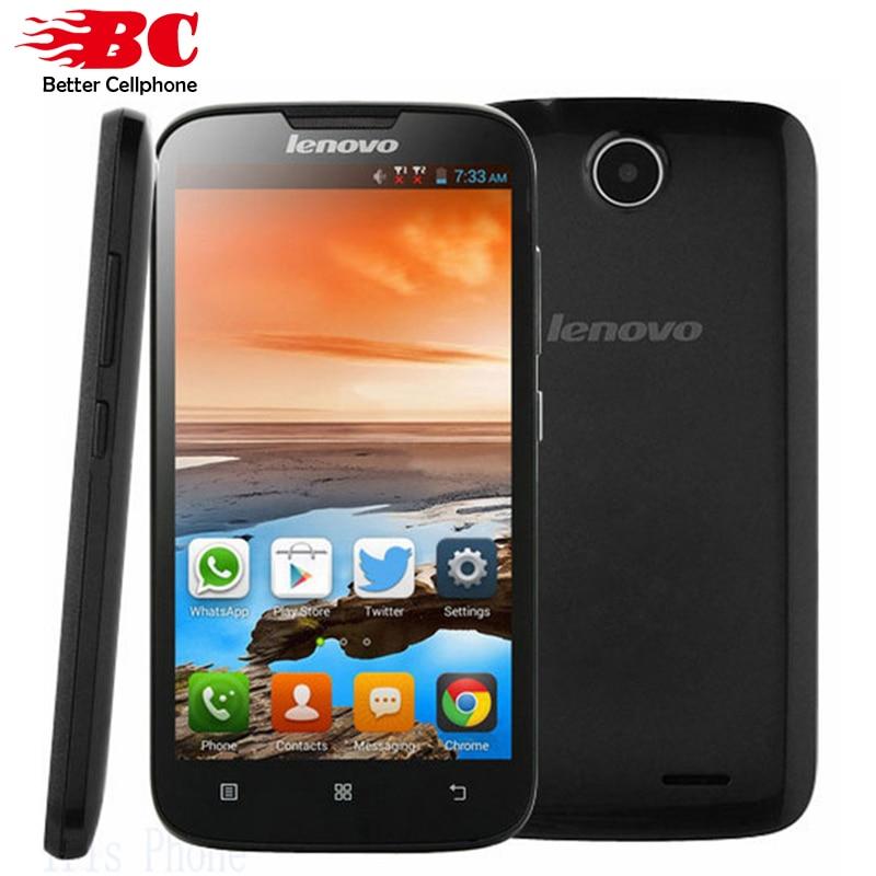 New original Lenovo A560 Qual comm MSM8212 Quad Core 512MB 4GB Android 4 3 2 0MP