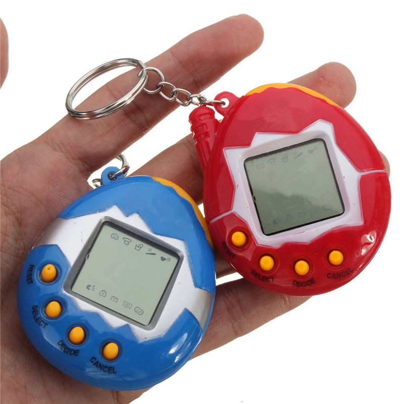 De Calidad superior Pink Azul Retro Virtual Pet 49 En 1 Cyber Mascotas Animales