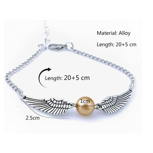 Harry Potter – Snitch Bracelet