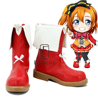 Anime LoveLive School Idol Project Sunny Day Song Kousaka Honoka Boots Cosplay Party Shoes Custom Made