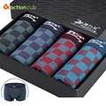 Men Modal Boxer Breathable Comfortable Print 4 pieces Underwear For Men Cuecas Boxers Shorts calzoncillos hombre boxer marca