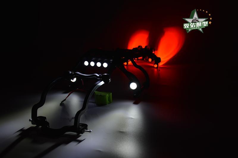 (1:10) TRAXXAS E-REVO Roll cage+Wheelie bar+LED light+Lamp holder RC Cars HPI Racing стоимость