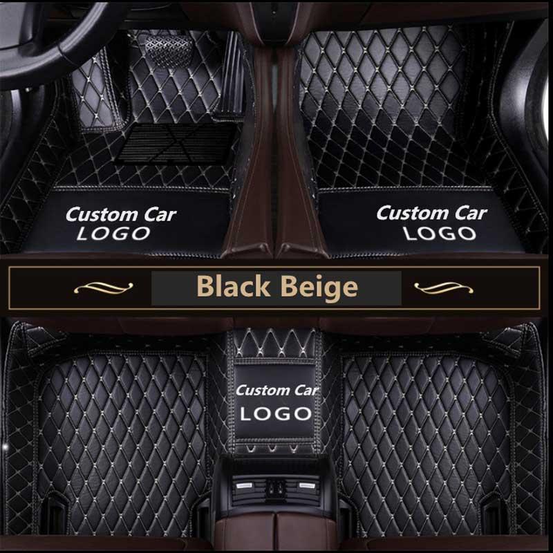 For B M W 1 2 3 4 5 7 Series X1 X3 X4 X5 X6 GT Series Z4 Waterproof floor mats Liner Auto Mat custom LOGO Car Floor Mats Auto in Floor Mats from Automobiles Motorcycles