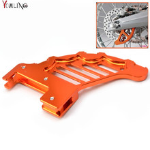 motorcycle accessories cnc aluminum Rear brake disc guard potector for KTM 250 XCW/XCFW 2006-2014 250 KTM EXC/EXCR 2003-2005