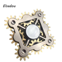 Elsadou One Nine Four Gears Customized Hand Made Stainless Steel Fantastic Hand Spinner Fidget Spinner