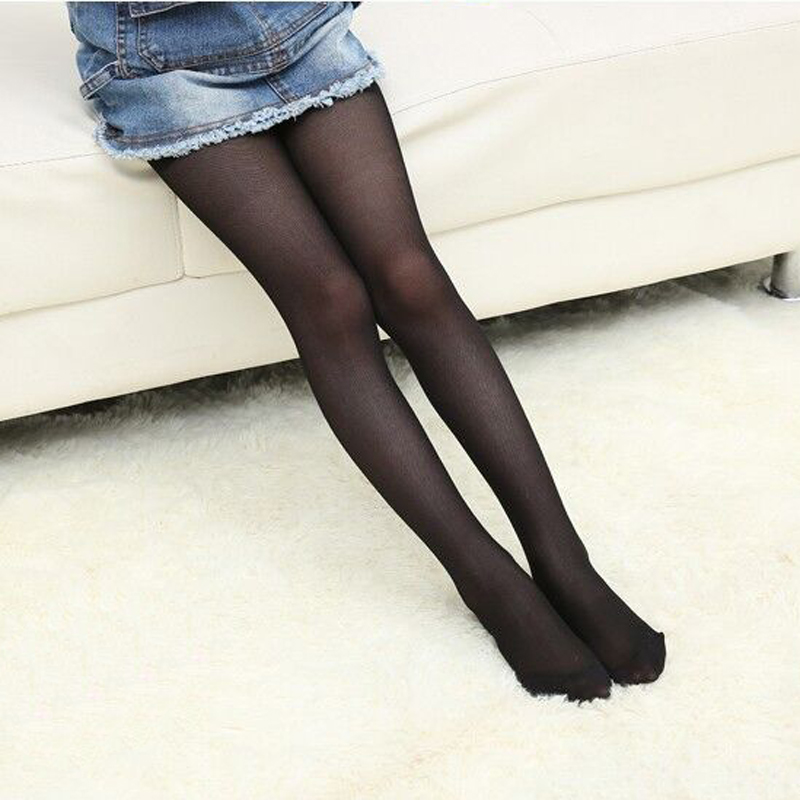 Candy Color Girls Kid Sheer Pantyhose Stockings Dance Ballet Tight Thin Solid Black Flesh White Summer Tights For Children Baby