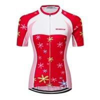 Miloto 2018 Women Cycling Jersey Tops Short Sleeve Summer Bicycle Cycling Clothing Mtb Bike Jersey Shirts