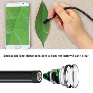 Image 3 - 2M 5M 7mm Endoscope Camera Sanke flexible Hard Cable Type C Mircrousb Port Inspection Borescope Camera For PC Android smartphone