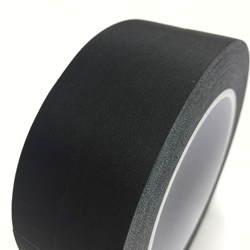 30m/Roll 8mm/10mm/12mm/15mm/20mm Black Acetate Cloth Single Adhesive Tape Acetate High temperature Resistance Tape
