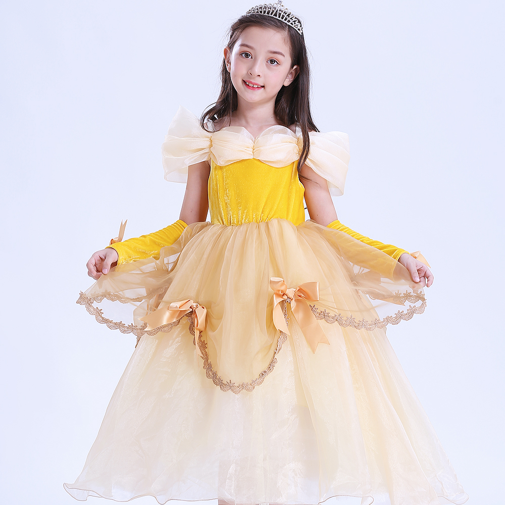 christmas princess belle dresses teenage party aurora
