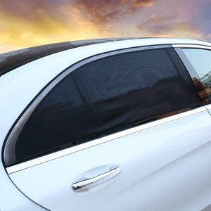 Image 5 - רשת יתושים מפסיק מגן שמש צל Visor אחורי צד חלון מגן ילד UV מגן סרט כיסוי אנטי Uv רכב שמש צל קרם הגנה