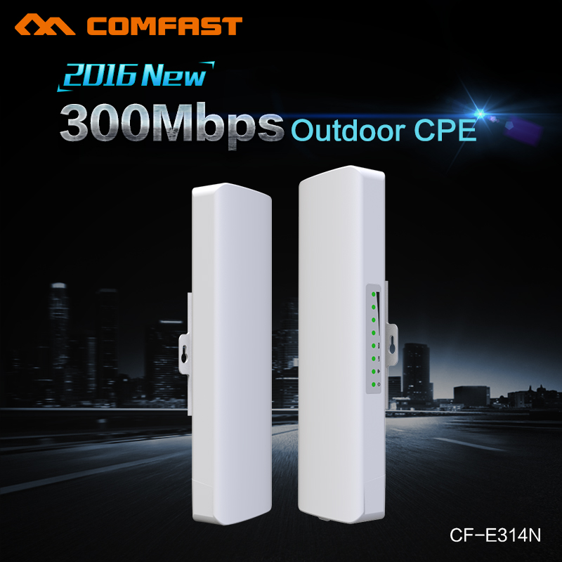 ФОТО COMFAST Wireless Outdoor CPE poe wi-fi access point 300M 500mW Antenna wi fi router Amplifier repetidor wifi receiver OpenWRT