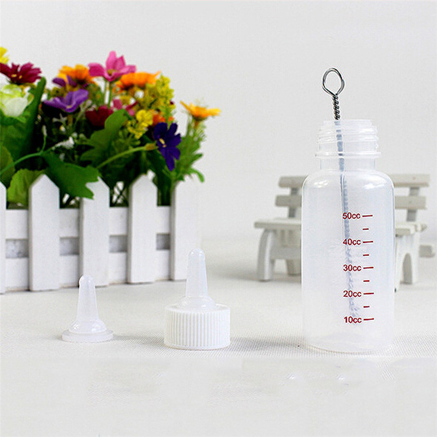Zero 2017 Cat Dog Milk Bottle Pet Puppy Kitten Baby Animal Feeding Bottle Nursing Set dropshipping B787