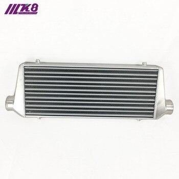 цена на Front Mount intercooler 550*230*65mm Universal Turbo Intercooler bar&plate OD=2.5
