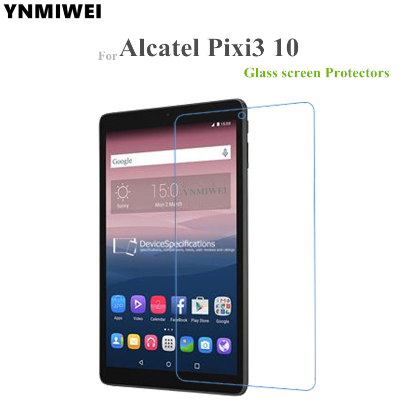 Glass Protector For Alcatel One Touch Pixi3 10.0 Tablet Screen Protectors For Pixi 3 10 9010X 8079 8080 Screen Guard