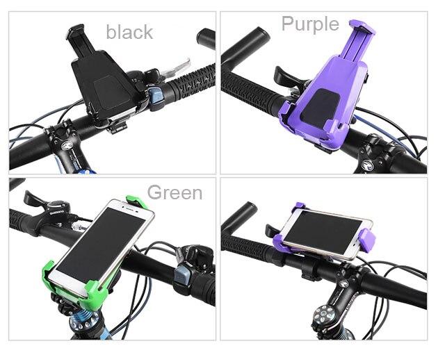 Giratorio Ajustable Bicicleta del Montaje del Manillar SOPORTE para TELÉFONO CEL