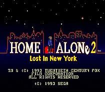 Home Alone 2 16 bit MD Game Card For Sega Mega Drive For Genesis