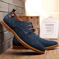 7 Colores de Los Hombres Zapatos de Marca de Lujo de Cuero Genuino Zapatos de Los Planos de Los Hombres negro Casual Zapatos Para Hombres Zapatos Hombre Grande Tamaño 48 ZNPNXN
