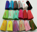200pcs 30mm*15mm   Leather Tassel Suede Tassel DIY Jewelry Bracelet Accessories Suede Leather Cord