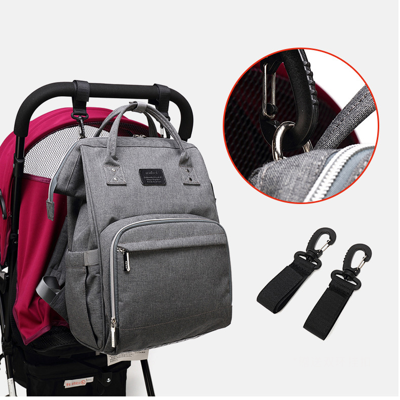 Baby Diaper Bags Maternity Backpack For Mom Nappy Changing Bebe Organizer Waterproof Care Bags Stroller Hook diaper bag fashion mummy maternity nappy changing canvas brand backpack for mom traveling organizer waterproof bags baby care