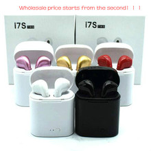 Bluetooth In-ear I7S TWS Twins Earbuds Mini Wireless Earphones Headset with Mic Stereo V5.0 for phones wholesale price start 2pc pymh bluetooth 5 0 headset mini tws twins wireless in ear stereo earphones earbuds