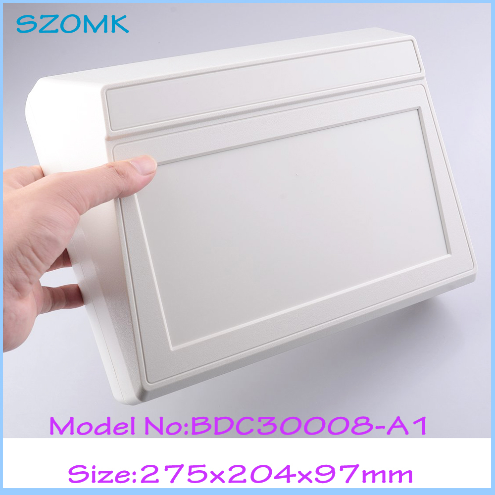 (4 pcs)ABS Plastic handheld plastic enclosure for electronic abs plastic project box ip55 junction box 275*204*97 mm electronic enclosure project box 1 pcs 204 143 78mm plastic waterproof enclosure instrument box electronical junction box