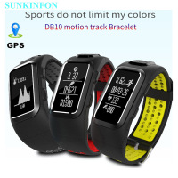 DB22 GPS Motion Track Record Smart Wristband Band Dynamic Heart Rate Pedometer Bracelet For Sony OnePlus