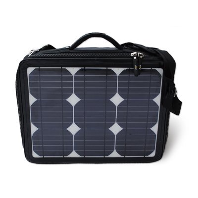 high power solar laptop bag ( solar panel 30W) powerbank 16000mAh