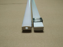 2.5m each meter , 100 meters lot Free Shipping FEDEX/UPS 2500mmX17mmX7mm Aluminum Profile with cover  6063 Grade