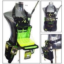 цена Dream Fishing Multifunctional Fishing Bag 17*6*22cm+Fishing Box 17.5*15.5*3.5cm Large Capacity Waterproof Waist Leg Fishing Bag онлайн в 2017 году