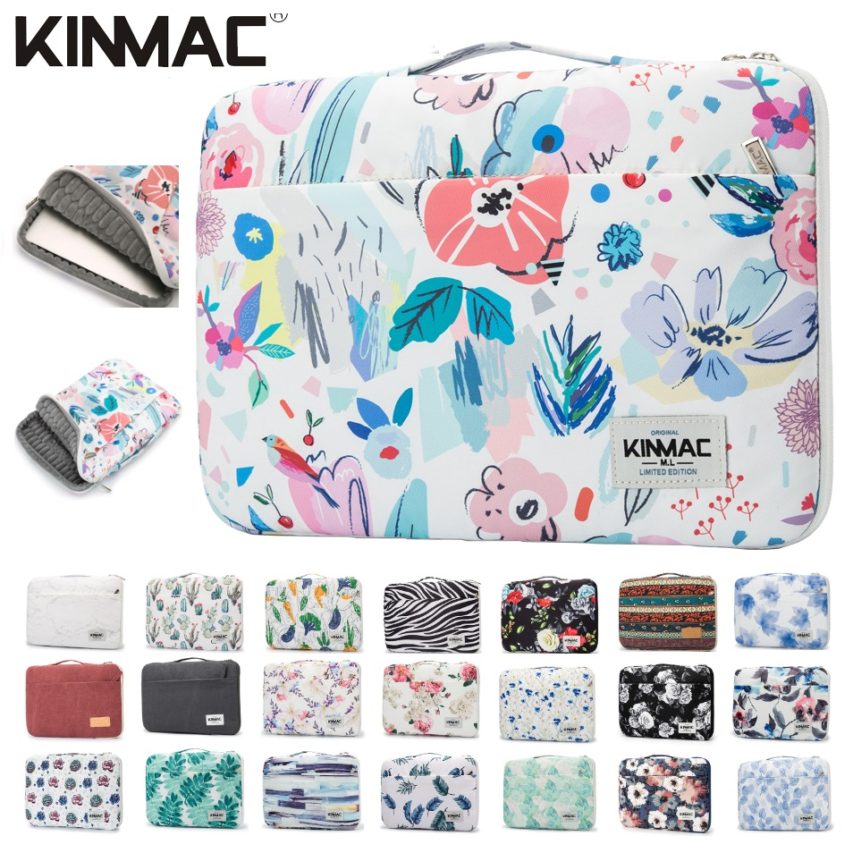 2019 New Brand Kinmac Handbag Sleeve Case For Laptop 12,13,14,15,15.6,Bag For MacBook Air Pro 13.3,15,4 Free Shipping KS022