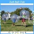 Envío Libre 1.2 m Logo Al Aire Libre Bola de Parachoques Inflable Para Los Niños, Fútbol Burbuja, cuerpo Bola Del Zorb Fútbol, Loopyball