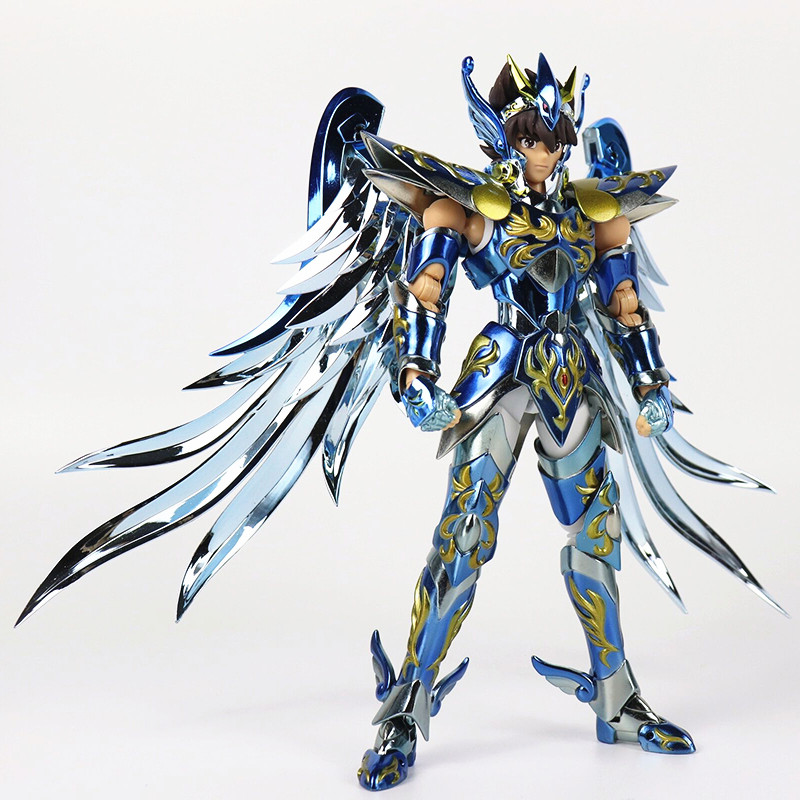 GT Saint Seiya The Lost Canvas EX Pegasus Tenma God Gold Myth Cloth The tenth anniversary Action Figure Collectible Model toy heroclix sargon the sorcerer 25 experienced dc 75th anniversary