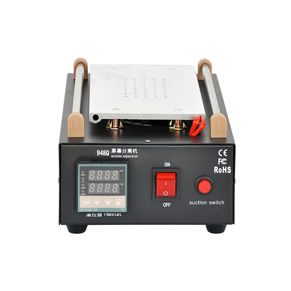 7inch LCD Separator Machine /Seperator To Repair /Split /Separate Built-in Vacuum Pump Glass Touch Screen Refurbished Uyue 948Q