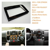 Car MP3 player Car Radio fascia for PEUGEOT Boxer 2011+ ,FIAT Ducato 2011+,CITROEN Jumper 2011+ CAR DVD Refitting Frame Dash Kit