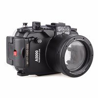 Meikon 40m 130ft Waterproof Underwater Diving Camera Case For Sony A5000 16 50mm