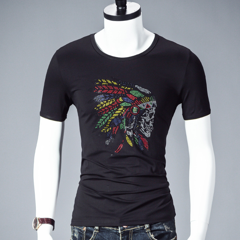футболки в стразах фото мужские целым