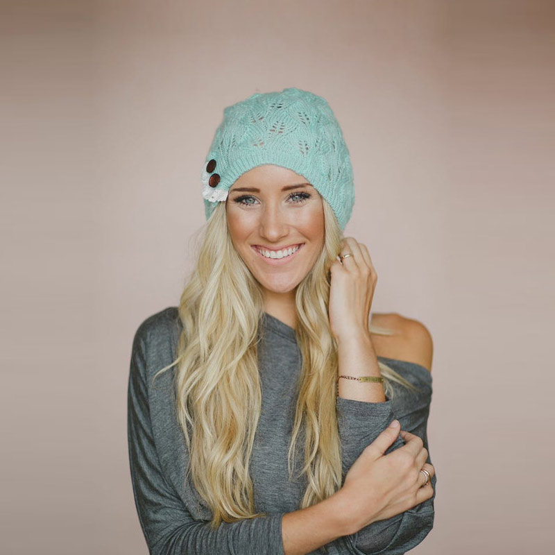 2016 New Style Spring Casual Cotton Knit Hats For Women Baggy Beanies Hat Crochet Slouchy Oversized Fashion Skullies female winter casual cotton knit hats for women men baggy beanie hat crochet slouchy oversized ski cap warm skullies toucas gorros 448e